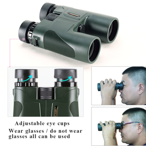 Image 5 - USCAMEL Military HD 10x42 Binoculars Professional Hunting Telescope Zoom High Quality Vision No Infrared Eyepiece Army Green