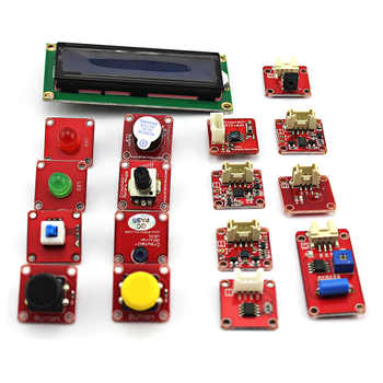 Elecrow Crowtail Deluxe Kit for Arduino Learner Education Fans Maker DIY Kit With Retail Box Super Learning Kit with 18 Projects
