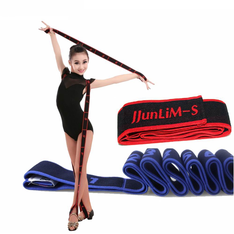 Gymnastics Adult Latin Training Bands Pilates Yoga Stretch Resistance Bands Fitness