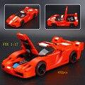 632 шт. Технологии Науки Серии FXX 1:17 3D Модель Строительные Блоки Lepins Кирпичи, Совместимые с Legoed Игрушки