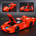632 pcs Ciência Tecnologia Séries FXX 1:17 Modelo 3D Blocos de Construção de Brinquedo Tijolos Compatíveis com Legoed Lepins