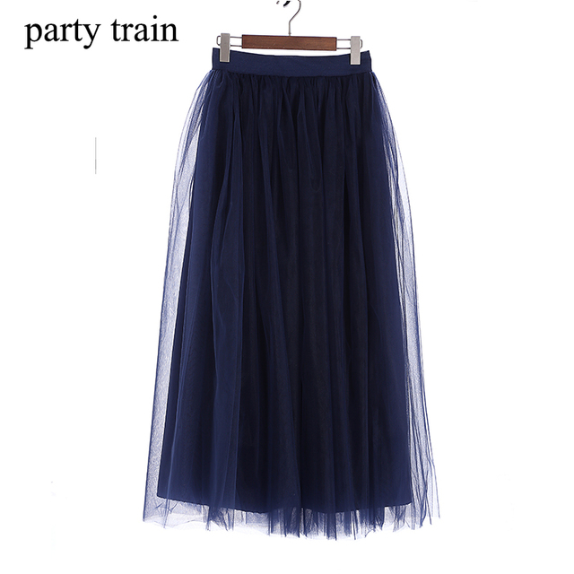 ���� 4layers fashion skirt faldas korean style big swing