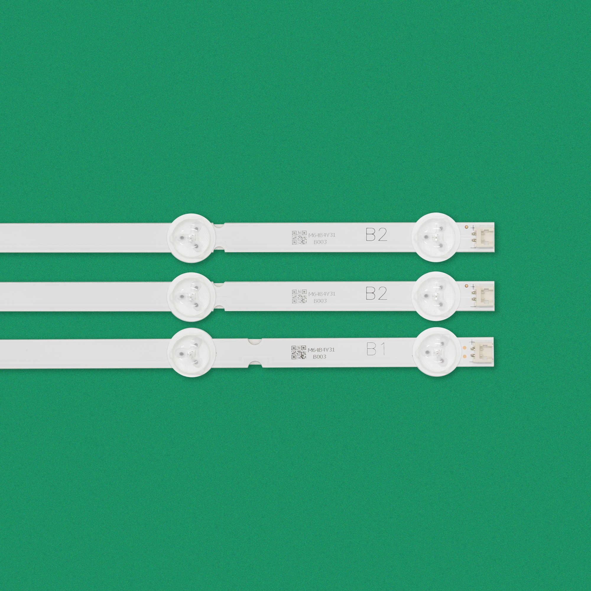 3 قطعة/المجموعة 630 مللي متر LED الخلفية مصابيح شرائط 7 المصابيح ل LG 32 بوصة التلفزيون B1 B2-Type V13 6916L-1204A 6916L-1399A 32LA620V 32LN575S