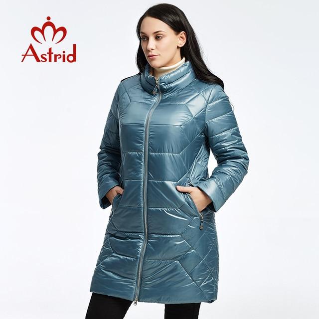 2019 Астрид Зимний пуховик модная удобная теплая куртка женская длинное пальто утолщение Женский теплая одежда Высокое качество AM-1972