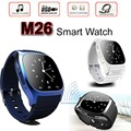 30PCS M26 Smart Watch Bluetooth Smartwatch LED Display Wrist Watches Alitmeter Snyc for iOS Android Smart Phone U8 UX