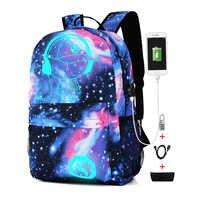 9672b280d56a Модные рюкзак с отражающими вставками для Для мужчин Для женщин Оксфорд  Анти-Вор школьные сумки