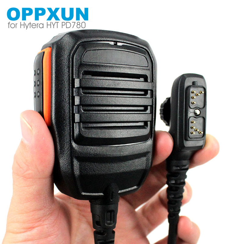 PTT Handheld Mic Microphone For Hytera HYT PD702 PD700 PD700G PD780 PD780G PD780GM Walkie Talkie Two Way Radio SM18N2
