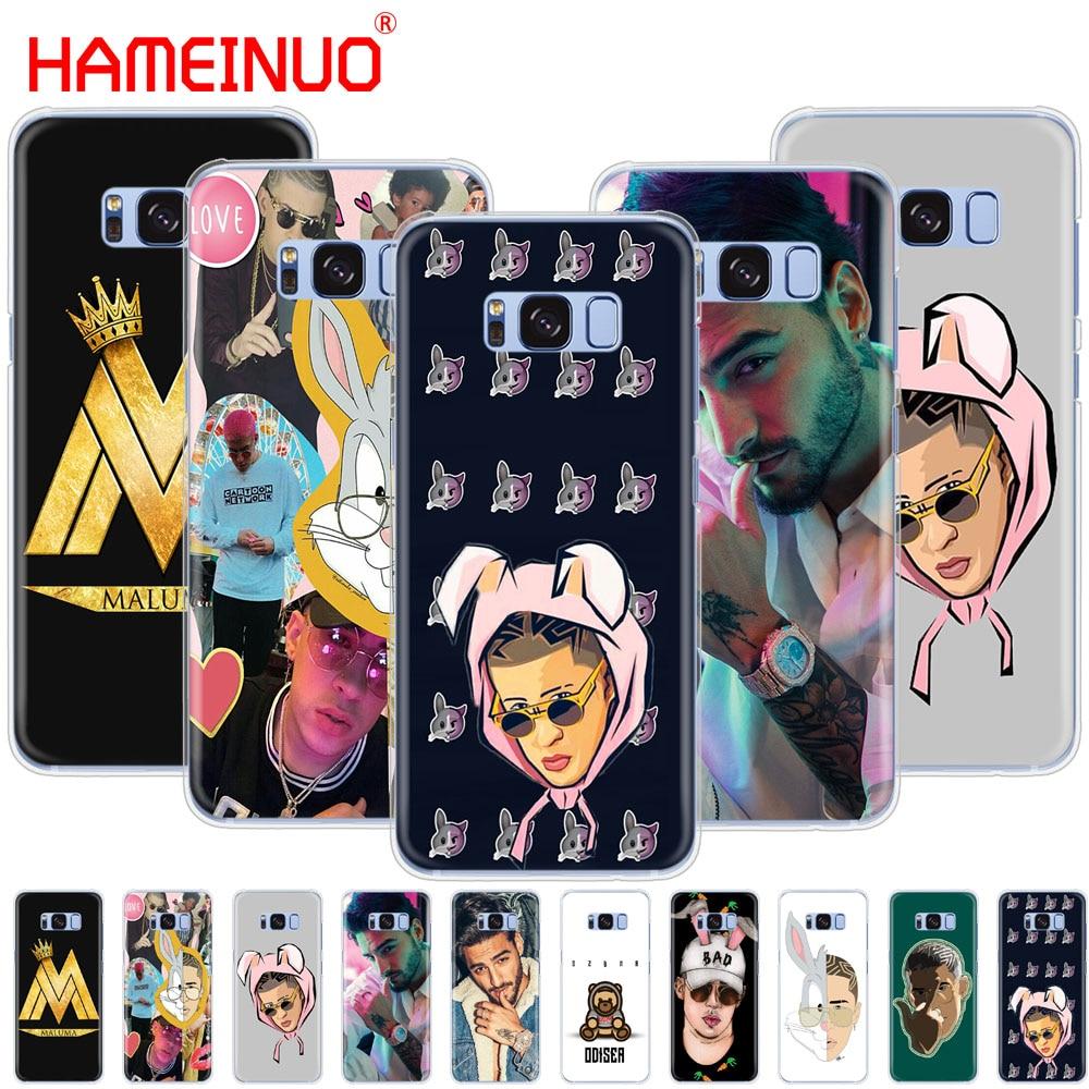 HAMEINUO Bad Bunny Maluma Ozuna POP Hip Hop Rapper cell phone case cover for Samsung Galaxy S9 S7 edge PLUS S8 S6 S5 S4 S3 MINI Сотовый телефон