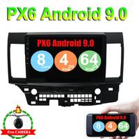 Android 9.0 Car Radio for MITSUBISHI LANCER 10.1 inch 2 DIN 4G GPS radio video player Capacitive 2007 2016 Rear Camera 4G RAM
