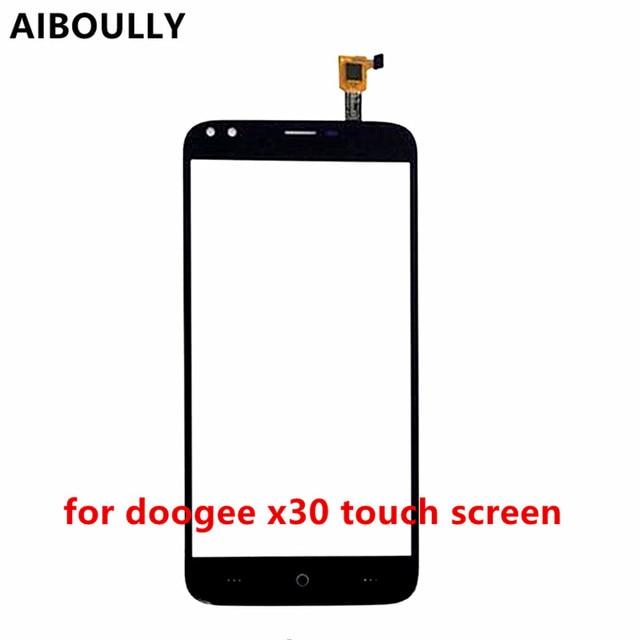 Chất Lượng cao X30 Cảm Ứng Glass Cho Doogee X30 Màn Hình Cảm Ứng Digitizer front Glass Bảng Điều Chỉnh Thay Thế Phụ Tùng + 3 m Sticker