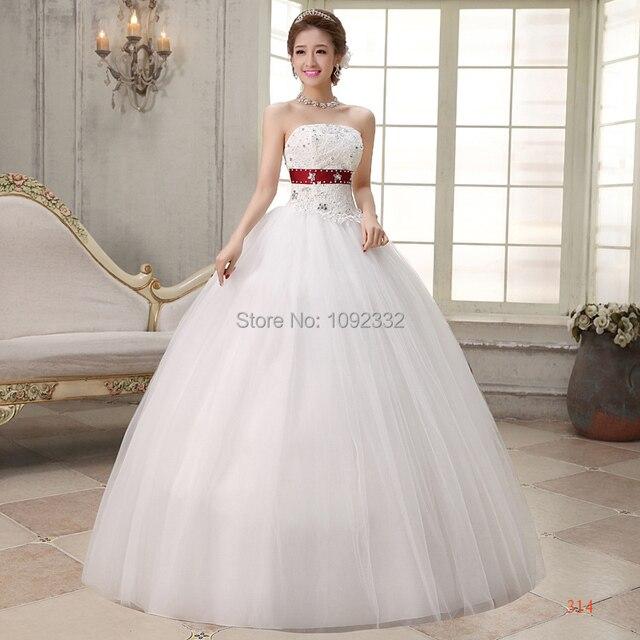 z 2016 nuevo stock novia vestido de tallas grandes mujeres vestido