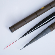 Superhard Fishing Rod Hand Pole Short Piece Stream 2.7-6.3m Carp Tackle for