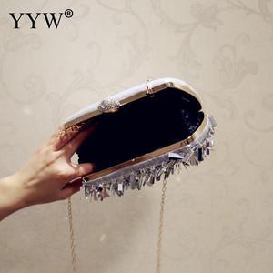 Image 3 - ゲリー女性結婚式の財布高級デザイナーのウェディングハンドバッグ指リングハンドバッグスパンコールイブニングパーティークラッチバッグゴシックラインストーン