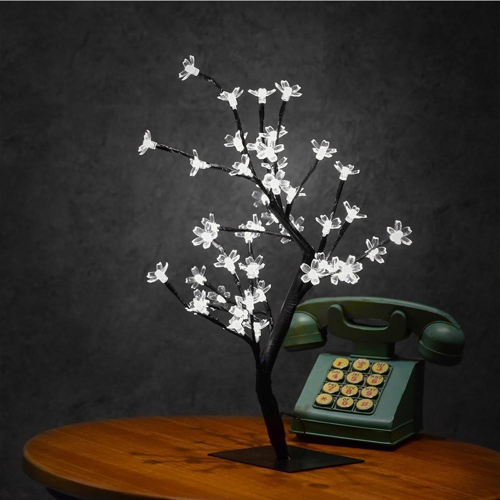Switch kontrol Tree Bright LED Cherry Lamp 48 Blomster Cherry Tree - Ferie belysning - Foto 4