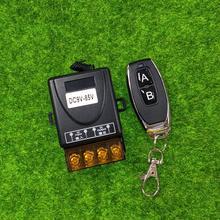 DC9V 12 V 24 V 36 V 48 V 85 V 30A relais universel 1 CH RF radio télécommande récepteur émetteur 433 mhz