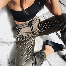 2018 Spring Sweatpants Women Casual Harem Pants Loose Trouse