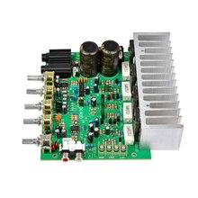 Aiyima placa amplificadora de potência, áudio 250w + 250w, hifi, amplificador estéreo digital, reverb, com controle de tom