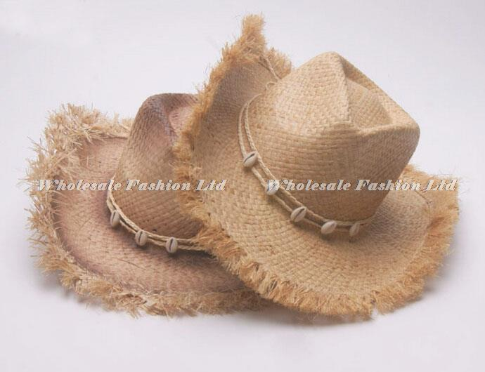 8762784997f16 Wholesale 12pcs Lot Brand Mens Cowboys Straw Hat Style Men Western ...