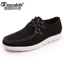 Odescalchi 2017 new daily sailing shoes casual shoes men shoes fashion sequins leather breathable shoes tide male