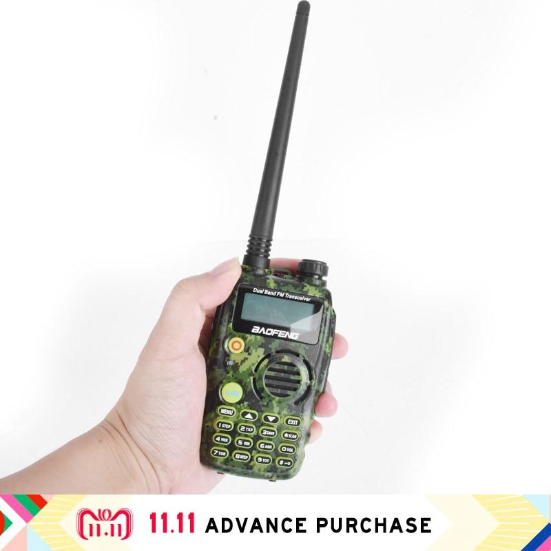 Baofeng A52 BF uv5r mis à niveau talkie-walkie téléphone à main bourse radio comunicador telsiz interphone 10 km chasse
