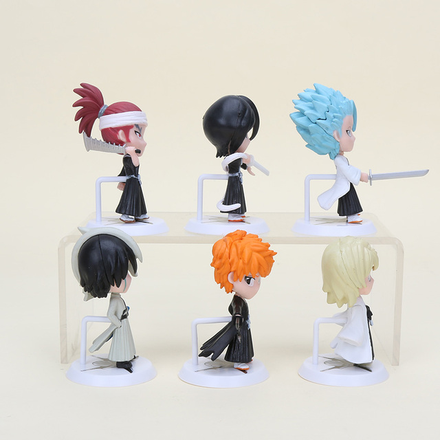 6pcs/set Bleach PVC Action Figures Toy