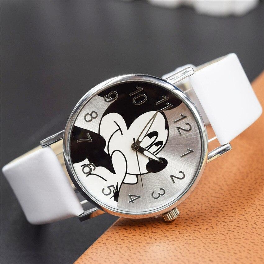 Colorful children cartoon watch women dress watch quartz ladies women girls mouse cute watches for Cartoon watches