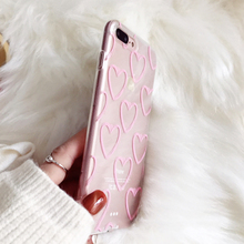 Heart Style Soft Case for iPhone