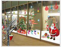 Showcase Decor Festival Home Decor Merry Christmas Wall Sticker Decal Removable Mural Door Vinyl Art Home Room Sticker 60*90cm