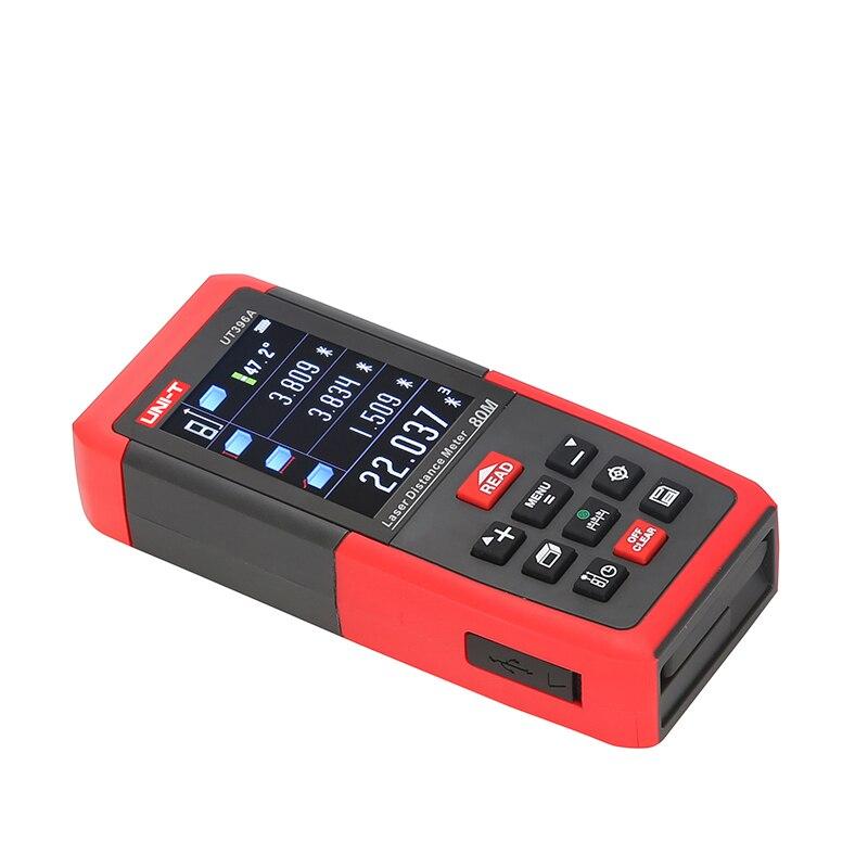 UNI-T télémètre Laser numérique télémètre caméra USB 80 m 120 m ruban à mesurer Trena Laser règle outil télémètre - 2