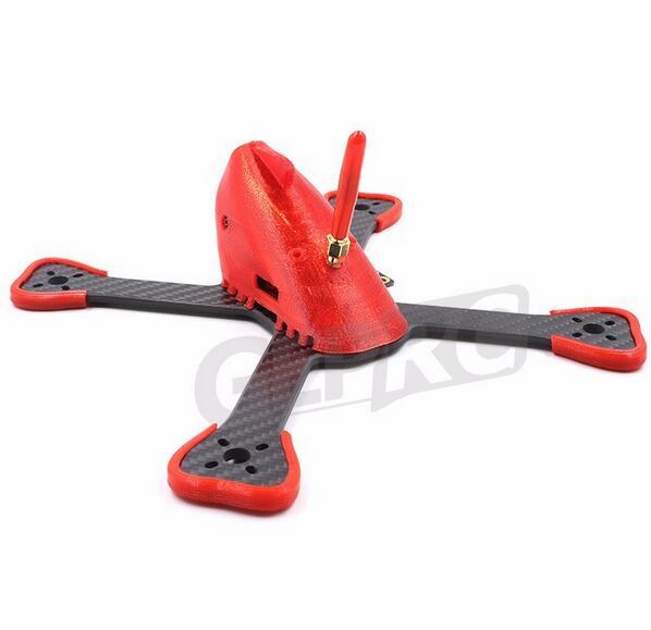 GEPRC FlyShark GEP-BX4 GEP-BX5 GEP-BX6 kvadrokopter cadre Vrai X en fibre de carbone Quadcopter cadre De Course FPV RC Drone cadre