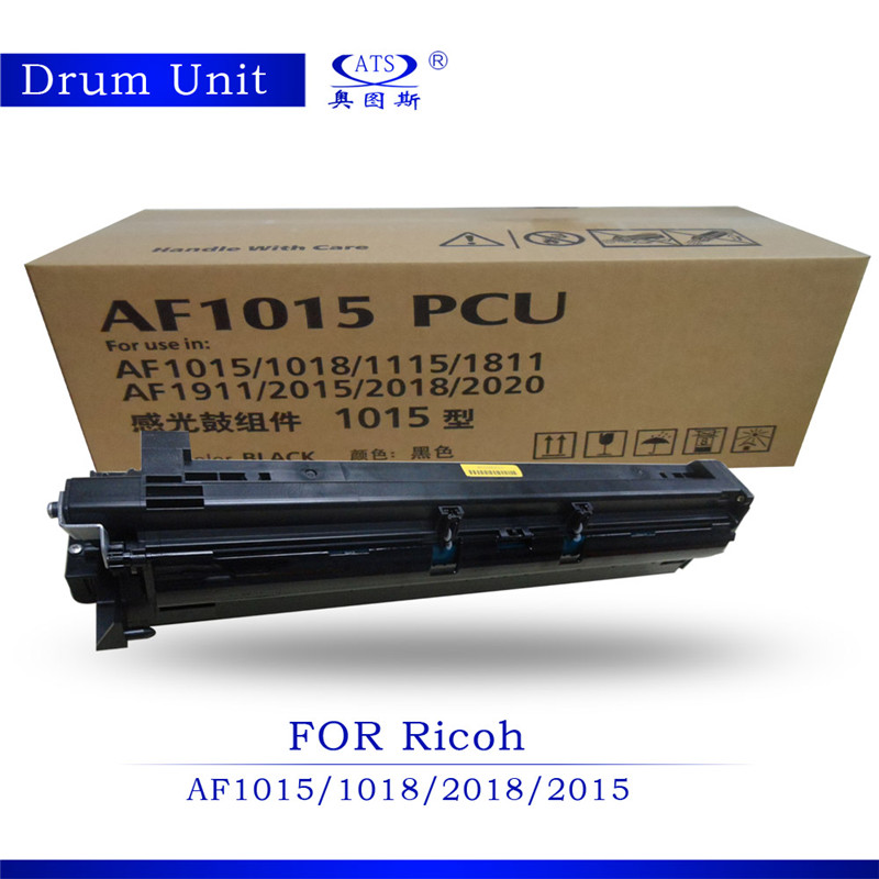 Good Feedback AF1015 PCU Photocopy machine Drum Unit Compatible For Ricoh AF1015 AF1018 AF2015 AF2018 Copier Spare Parts hot sale copier spare parts high quality copier sensor cassatte for minolta bh 283 photocopy machine part bh283
