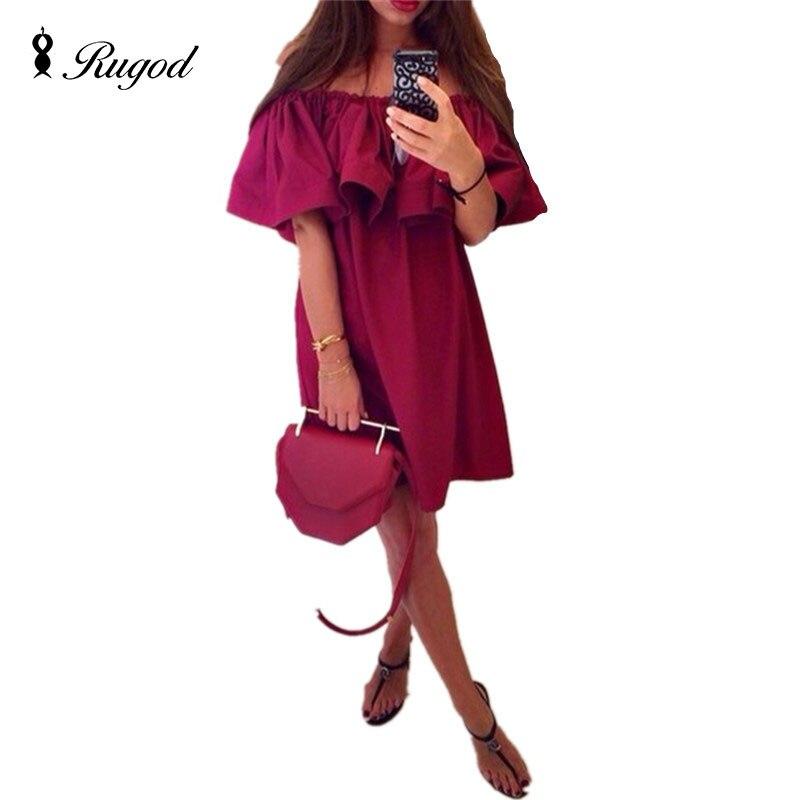 fa1a2e184a0 ✓Robe d été robes sexy club robe à volants 2018 plus la taille ...