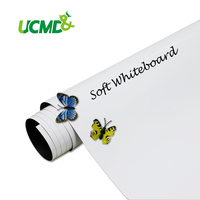 Magnetic Dry Wipe Board Stick On Wall Whiteboard 90 X 60 Cm X 0 6 Mm