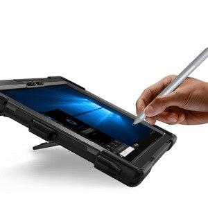 Image 5 - Fall für Microsoft Oberfläche Pro 6 Pro 5 PRO 4 tablet Kinder Stoßfest Abdeckung 360 Rotierenden Ständer hard & Hand strap + Neck Strap