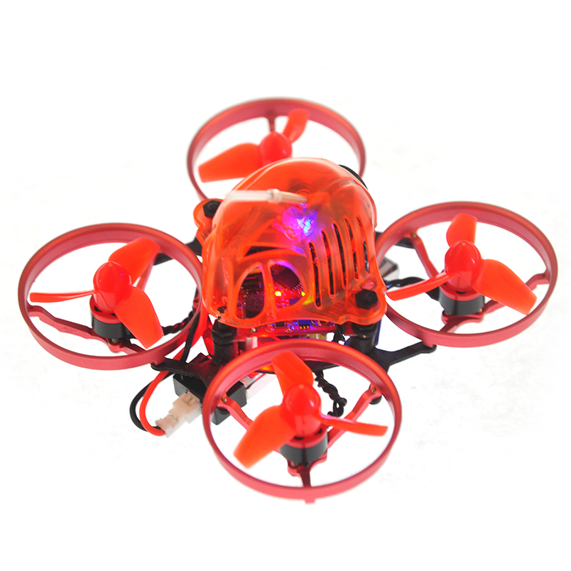 купить Snapper6 1S 5.8G 48CH Drone Brushless Whoop Racer BNF 700TVL Camera F3 Built-in OSD 65mm Micro FPV Racing RC Drone Quadcopter онлайн
