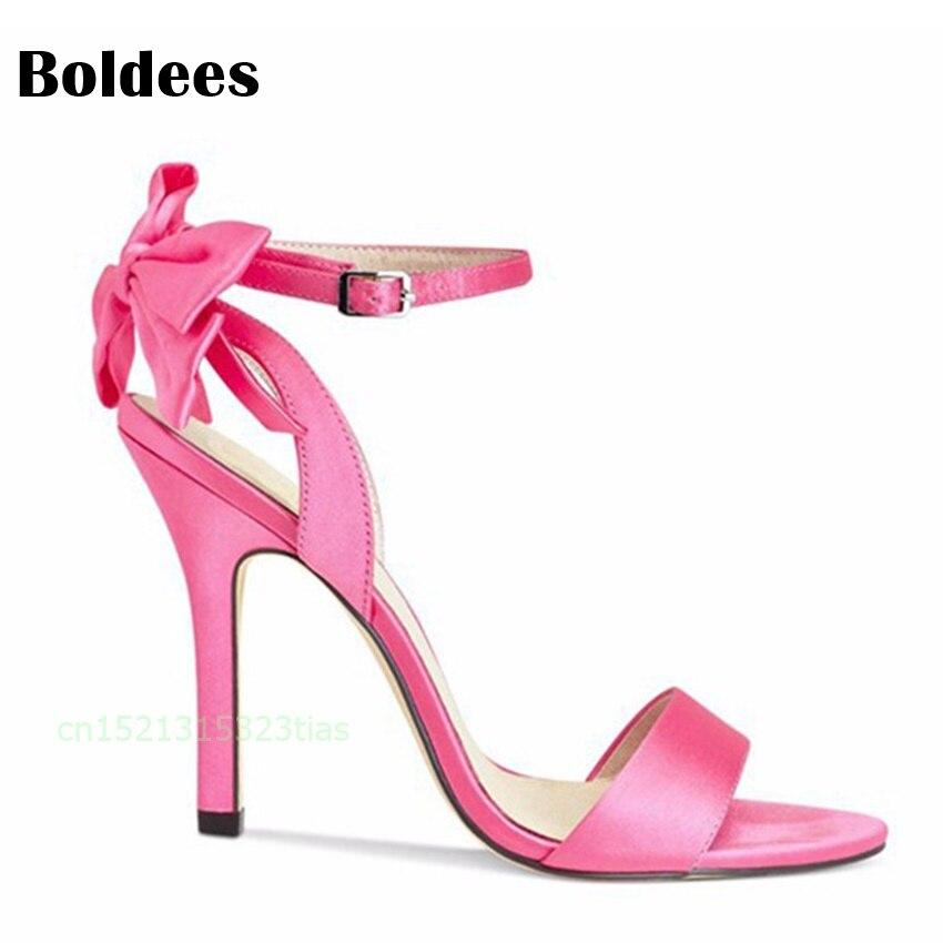 Fliege Heel Sandalen G Mit Frauen High Ankle Schnalle cR53AjqL4