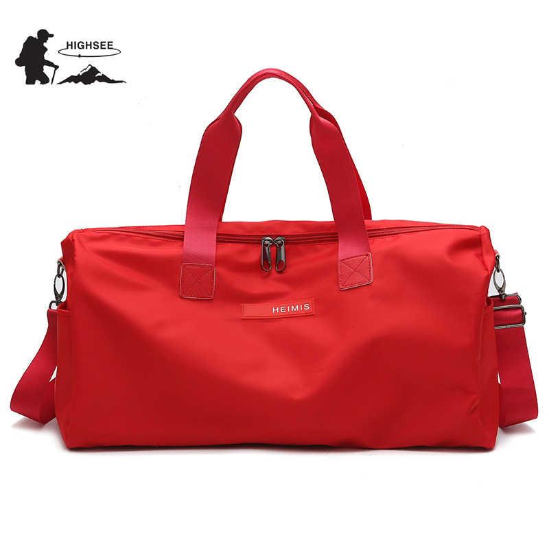 d993380e7 Gym Bags Men Women Training Sports Bags For Fitness Bag Female Waterproof Outdoor  Travel Shoulder Handbags