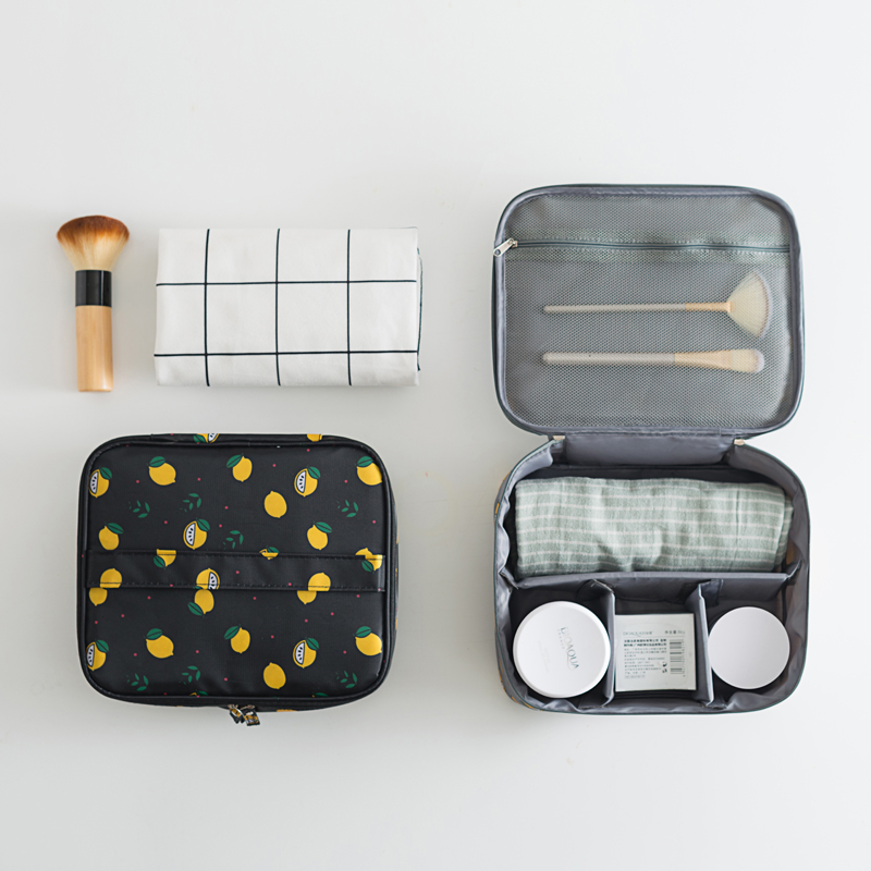 Купить с кэшбэком Travel Ladies Bag Cosmetics Cosmetic bag Women Makeup Bag Toiletry Travel Kits Beautician Storage Bag Large Capacity