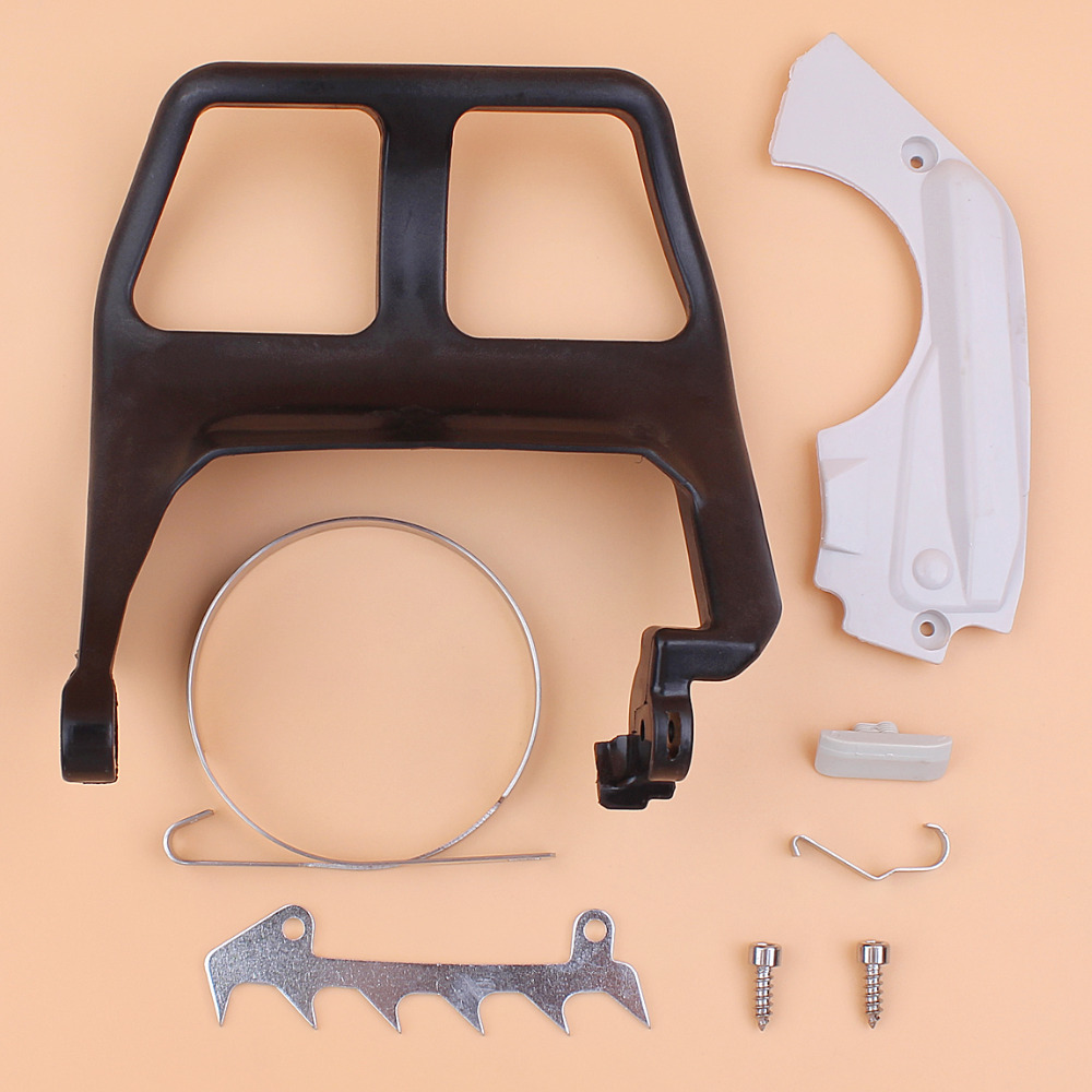 Front Handle Brake Band Cover Bumper Spike Kit For STIHL MS210 MS230 MS250 021 023 025 MS 250 230 210 Chainsaw Gas Saws chainsaw igntion coil spark plug intake manifold kit for stihl 023 025 ms 230 ms 250 chainsaw spare parts