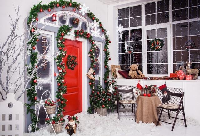 Huayi fotografie achtergronden kerstmis achtergrond decoraties