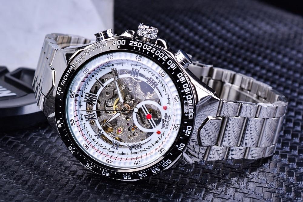 HTB1K9YXc56guuRkSnb4q6zu4XXal Winner Classic Series Golden Movement Steel Mens Skeleton Man Wrist Watch Mechanical Top Brand Luxury Fashion Automatic Watches