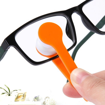 3pcs/lot  Sun Glasses Eyeglass Microfiber Spectacles Cleaner Brush Cleaning Tool  Random Color Sunglasses Cleaning wipe