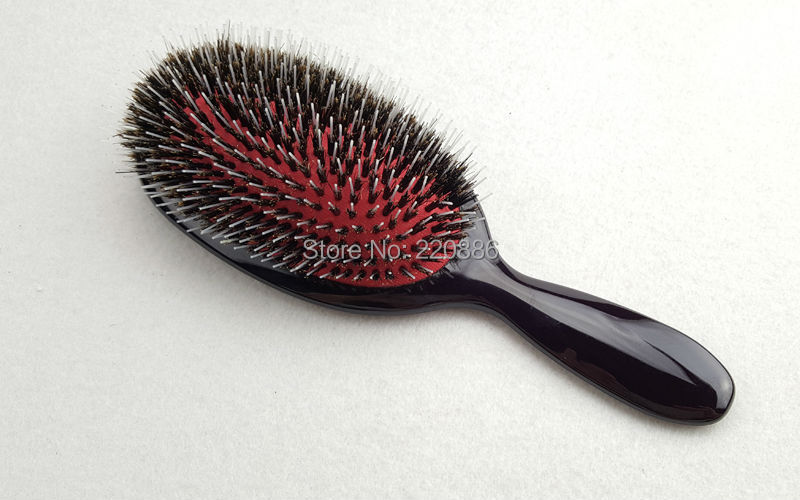Boar bristle mix nylon hair brush plastic hair brush paddle hair boar bristle mix nylon hair brush plastic hair brush paddle hair brush hair extension brush gic hb531 1 piece free shipping in styling tools from beauty pmusecretfo Images