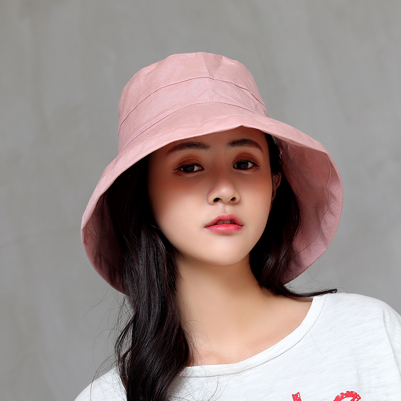 a597027bd8304 Fashion Casual Summer Ladies Hats Women Solid Polyester Sun Visor hat Sun  UV Protection Women Hats Cap-in Women's Sun Hats from Apparel Accessories  on ...