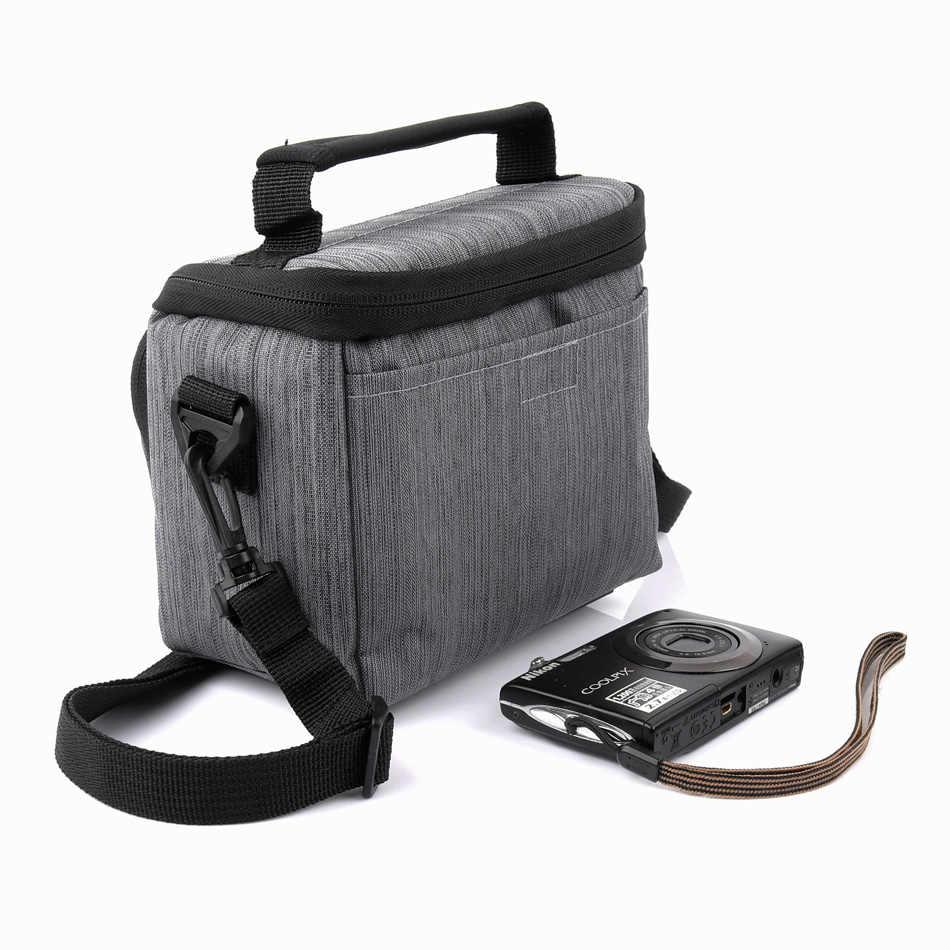 Цифровой Камера сумка чехол для цифровой однообъективной зеркальной камеры Canon EOS M100 M50 M10 M6 M5 M3 SX60 SX50 SX40 G5X G1X Mark II III G1XII G16 G15 G12 G11 SX530 SX540
