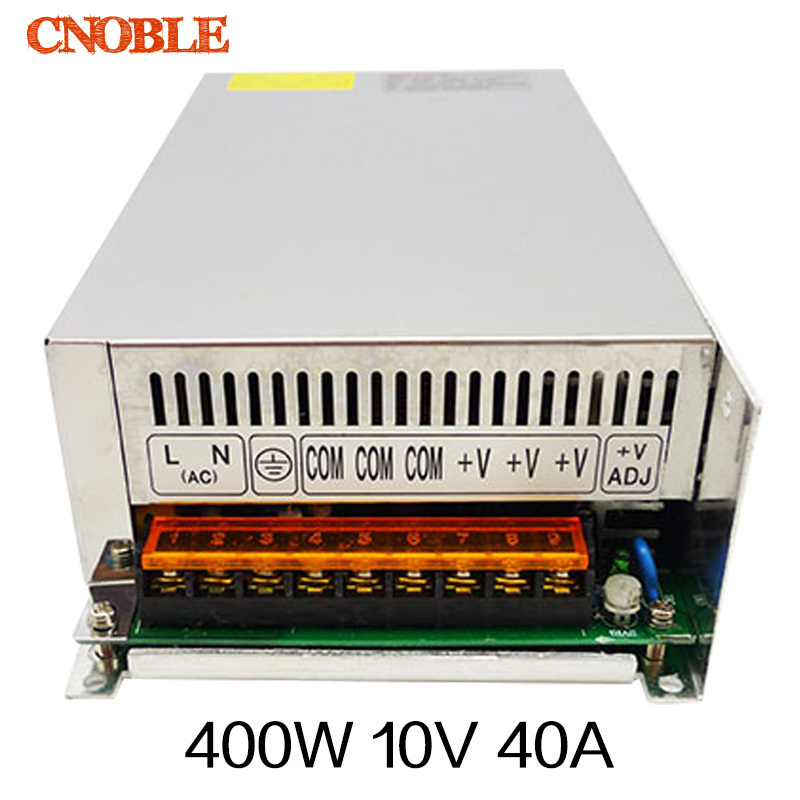 400W 10V 40A Universal Switch Power Supply For LED Strip Light AC To DC Control Voltage Transformer ac 85v 265v to 20 38v 600ma power supply driver adapter for led light lamp