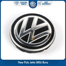 цена на New OEM 56mm Wheel Center Hub Caps Logo Badge Emblems For VW Volkswagen New Polo Jetta MK6 Bora 6CD 601 171 XQI