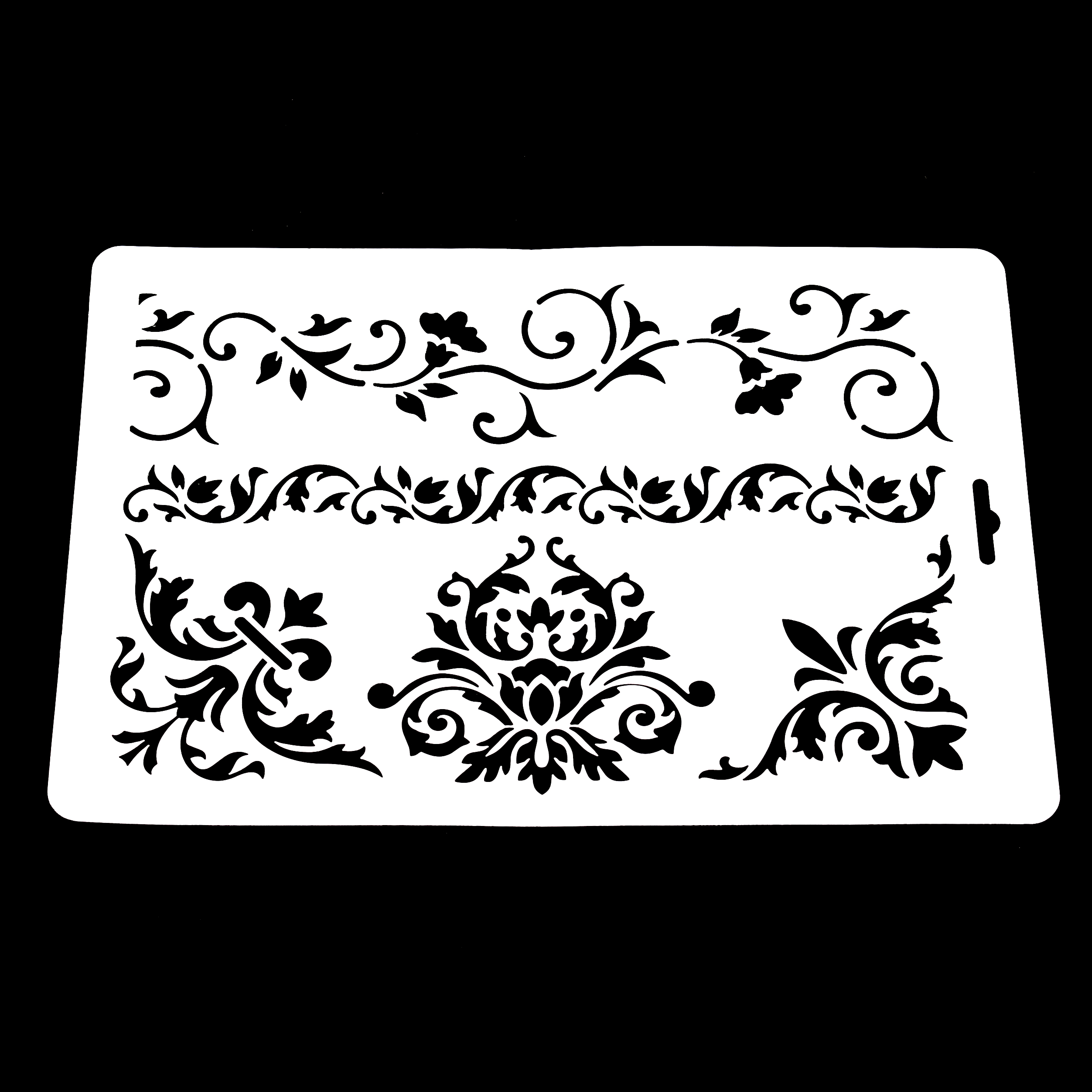DIY Crafts Layering Stencil for Wall Painting Scrapbooking Embossing ...