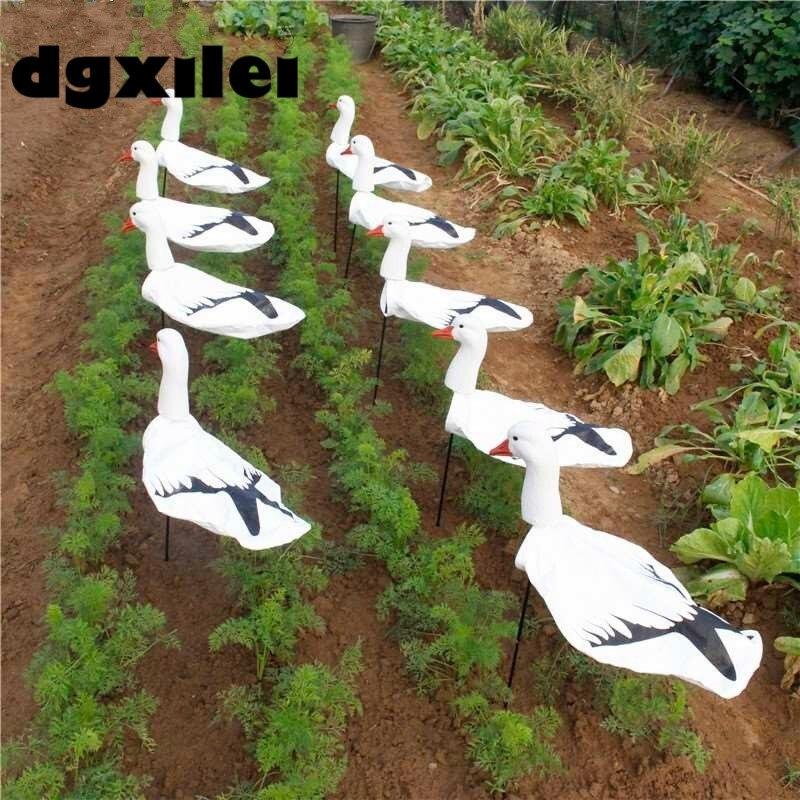 Outdoor Hunting Wholesale Eva Plastic Snow Goose Decoys Tyvek Screen Pringing Windsock Hunting Equipment From Xilei