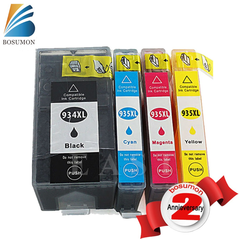 934 935 Ink Cartridge For hp 934xl 935xl Officejet6380 6230 934 935 6830 Printer Chip For